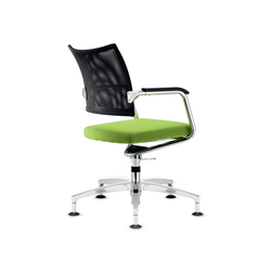 Teo 2 Conference swivel chair | Sièges visiteurs / d'appoint | Dauphin