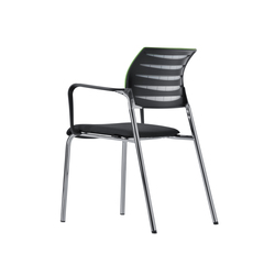 X-Code Four-legged chair | Sillas | Dauphin