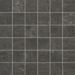 Burlington black natural mosaico | Concrete mosaics | Apavisa