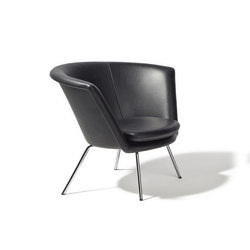H 57 armchair | Poltrone lounge | Lampert