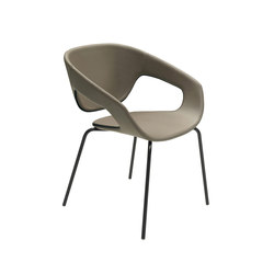 Vad Four-leg chair | Chaises de restaurant | CASAMANIA-HORM.IT