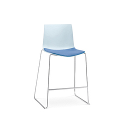 Catifa 46 | Stool, sled base | Bar stools | Arper