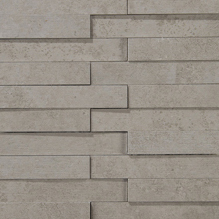 Evolution grey striato mosaico brick | Ceramic mosaics | Apavisa