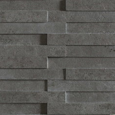 Evolution black striato mosaico brick | Keramik Fliesen | Apavisa