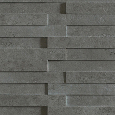 Evolution antracita striato mosaico brick | Ceramic tiles | Apavisa