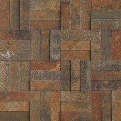 Xtreme copper lappato mosaico brick | Mosaïques | Apavisa