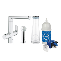 grohe blue by grohe starter kit water glasses glass. Black Bedroom Furniture Sets. Home Design Ideas