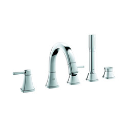 Grandera 5-hole bath combination | Bath taps | GROHE