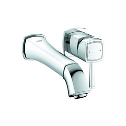 Grandera Two-hole basin mixer M-Size | Wash basin taps | GROHE