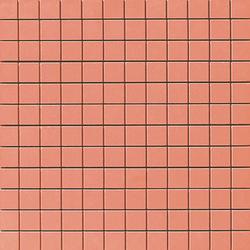 Spectrum red satinado mosaico preinsición | Mosaïques | Apavisa
