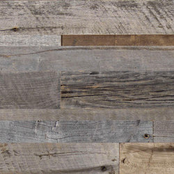 CUBE Reclaimed Wood Alder grey | Panels | Admonter