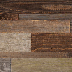CUBE Reclaimed Wood sunbaked | Wood panels / Wood fibre panels | Admonter