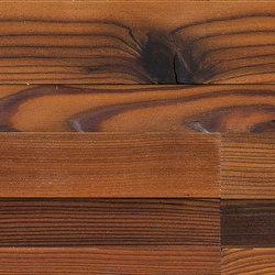 CUBE Larch dark | Wood panels | Admonter