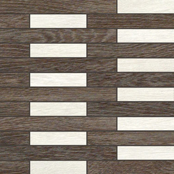 Rovere brown decapé mosaico link | Mosaïques céramique | Apavisa