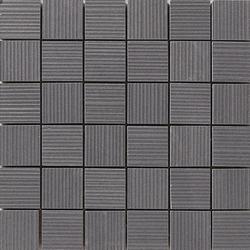 Lava negro rigato mosaico | Ceramic mosaics | Apavisa