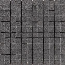 Lava negro rigato mosaico | Baldosas de suelo | Apavisa
