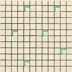 Lava marfil multirelieve mosaico | Ceramic mosaics | Apavisa