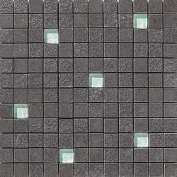 Lava negro multirelieve mosaico | Carrelage pour sol | Apavisa