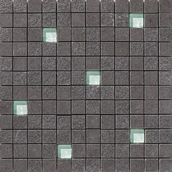 Lava negro multirelieve mosaico | Bodenfliesen | Apavisa
