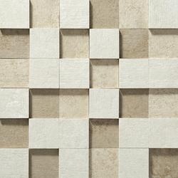 Nanoevolution ivory striato mosaico | Mosaïques céramique | Apavisa