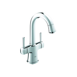 Grandera Two-handle basin mixer, 1/2"