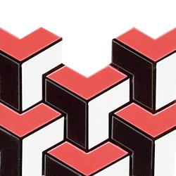 Spectrum red pulido mosaico tetris | Mosaike | Apavisa