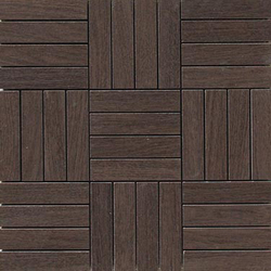 Oak moka natural mosaico hybrid | Mosaïques céramique | Apavisa