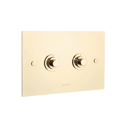 Diamond flush plate brass | Flushes | Aquadomo