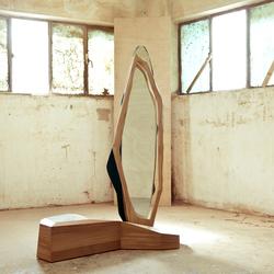 Ikebana III Standing mirror | Spiegel | Karen Chekerdjian
