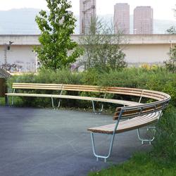 Landi Round Bench special | Exterior benches | BURRI