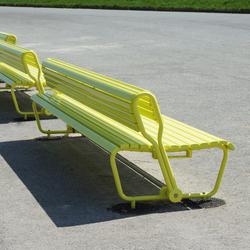 Landi mit schwenkbarer Rückenlehne | Exterior benches | BURRI