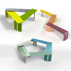 Plico Bench | Garden stools | BURRI