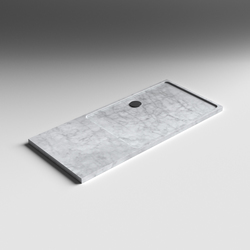 Shower Tray in Stone | Shower trays | Berloni Bagno