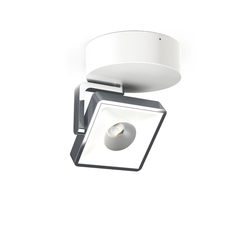 STUDIO UP ROUND 13 120V alu pol/white | Ceiling-mounted spotlights | Tobias Grau