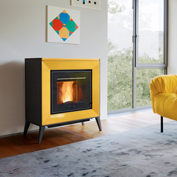 Line | Pellet burning stoves | Piazzetta