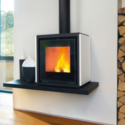 Qube 1 | Wood burning stoves | Piazzetta