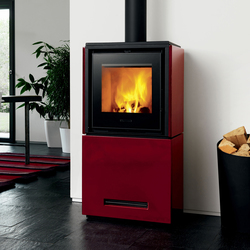 Qube 2 | Wood burning stoves | Piazzetta