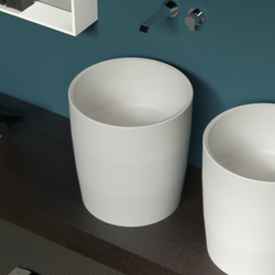 Entasi Leaning | Wash basins | Sign