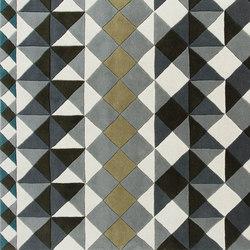 Mosaïek Hand Tufted Rugs Grey 2 | Formatteppiche / Designerteppiche | GAN