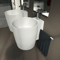 Entasi Hanging | Wash basins | Berloni Bagno