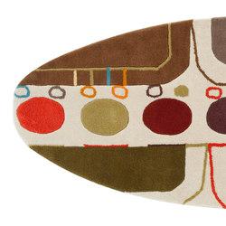 Surf Rug Malibú Mediterráneo 4 | Rugs / Designer rugs | GAN