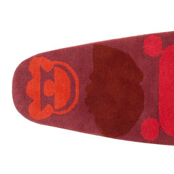 Surf Rug Race Índico Red 2 | Rugs | GAN