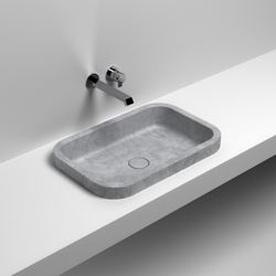Pura Incasso | Wash basins | Sign