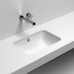 Sotto Rettangolare | Wash basins | Sign