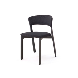 Cafe chair black | Chaises polyvalentes | Arco