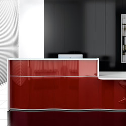 Wave | Reception desks | MDD