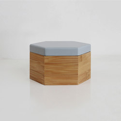 Hex Box Medium Colour | Contenedores / cajas | Evie Group