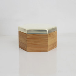 Hex Box Medium Mirror | Behälter / Boxen | Evie Group