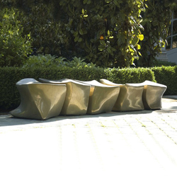L5 Spine Bench | Garden benches | Marie Khouri Design