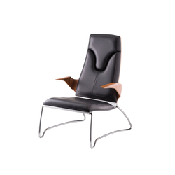 Stresemann Co 01 High Lounge Chair | Lounge chairs | rosconi